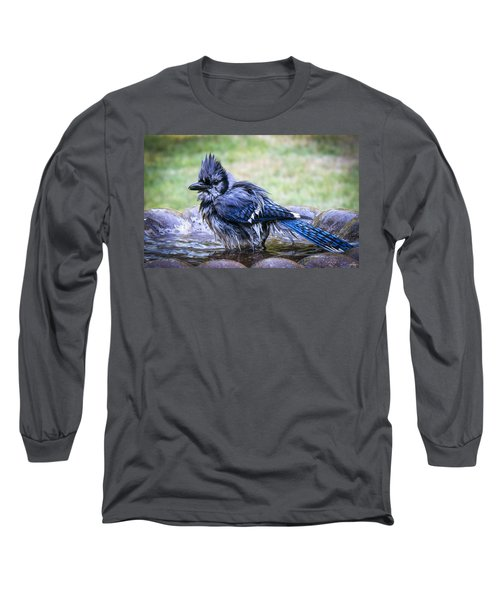Bath Night Long Sleeve T-Shirt