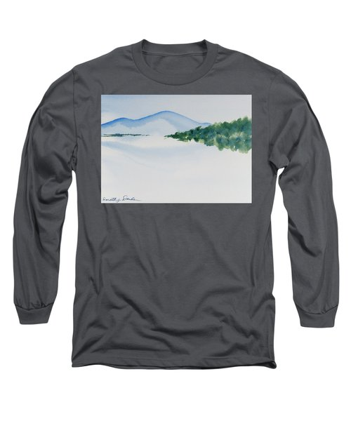Bathurst Harbour Reflections Long Sleeve T-Shirt