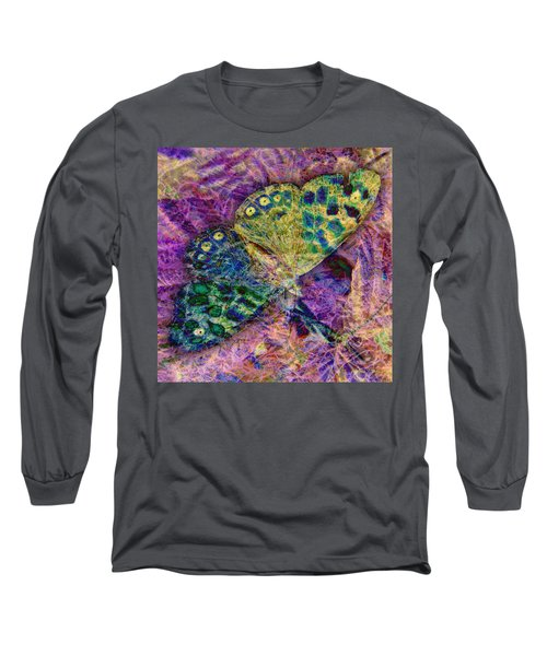 Batik Butterfly Long Sleeve T-Shirt
