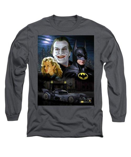 Batman 1989 Long Sleeve T-Shirt