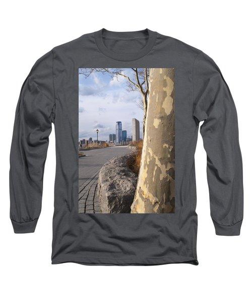 Battery Park Long Sleeve T-Shirt by Henri Irizarri