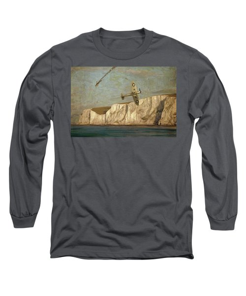 Battle Of Britain Over Dover Long Sleeve T-Shirt