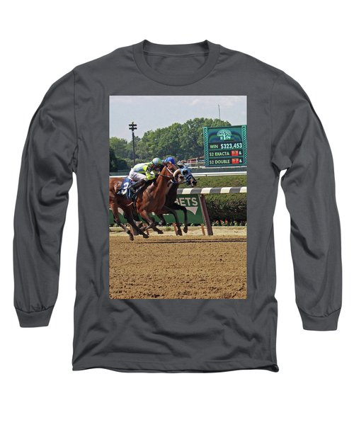 Battle To The Finish Long Sleeve T-Shirt