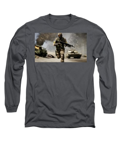 Battlefield Bad Company 2 Long Sleeve T-Shirt