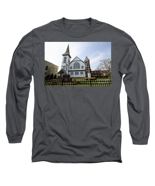Bay Shore Methodist Episcopal Church Long Sleeve T-Shirt