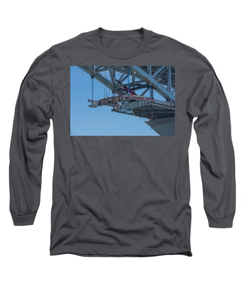 Bayonne Bridge Raising 4 Long Sleeve T-Shirt