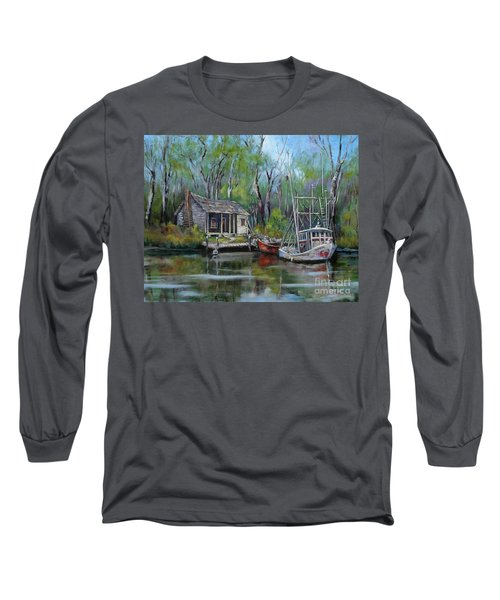 Bayou Shrimper Long Sleeve T-Shirt