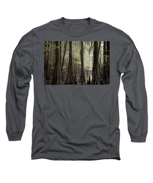 Bayou Trees Long Sleeve T-Shirt