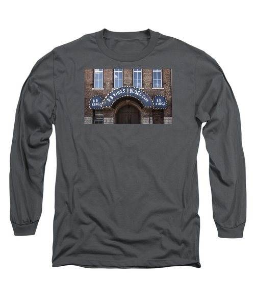 Long Sleeve T-Shirt featuring the photograph B.b. King's Blues Club by Ray Congrove