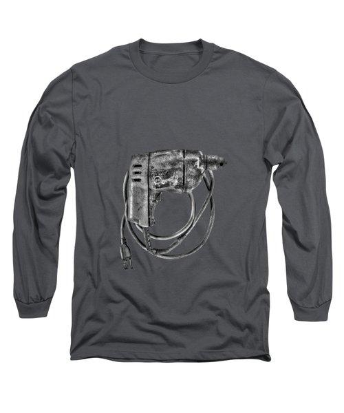 Bd Drill Motor Bw Long Sleeve T-Shirt