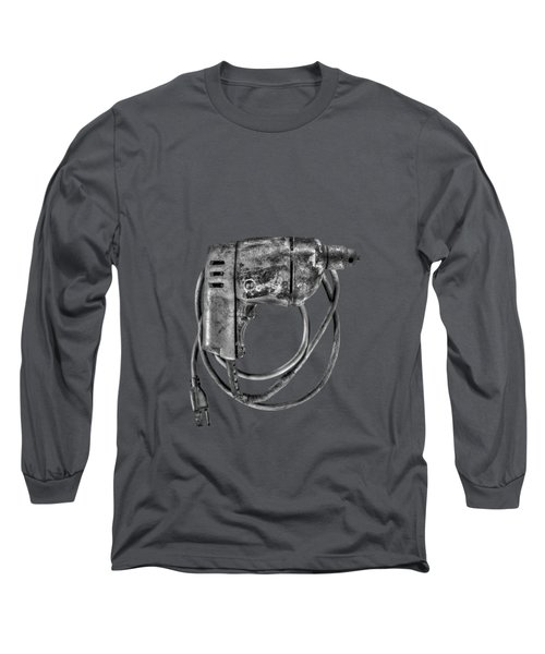 Bd Drill Motor Bw Long Sleeve T-Shirt