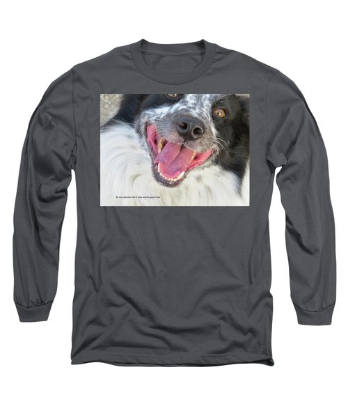 Be My Valentine Long Sleeve T-Shirt by Aaron Martens