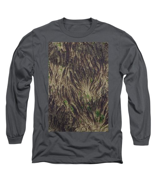 Beach Abstract 21 Long Sleeve T-Shirt