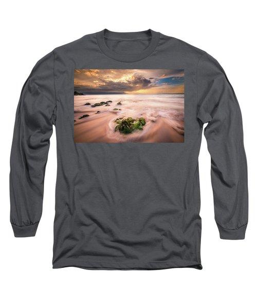 Beach At Paia Long Sleeve T-Shirt