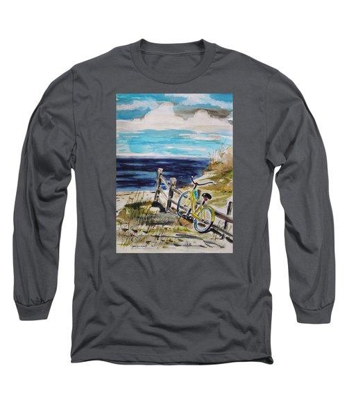 Beach Cruiser Long Sleeve T-Shirt by John Williams