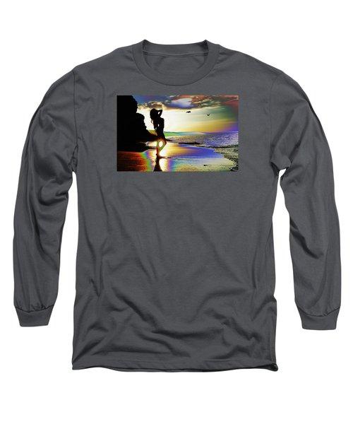 Beach Girl 4 Long Sleeve T-Shirt