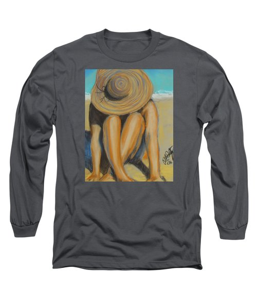 Beach Hat Long Sleeve T-Shirt