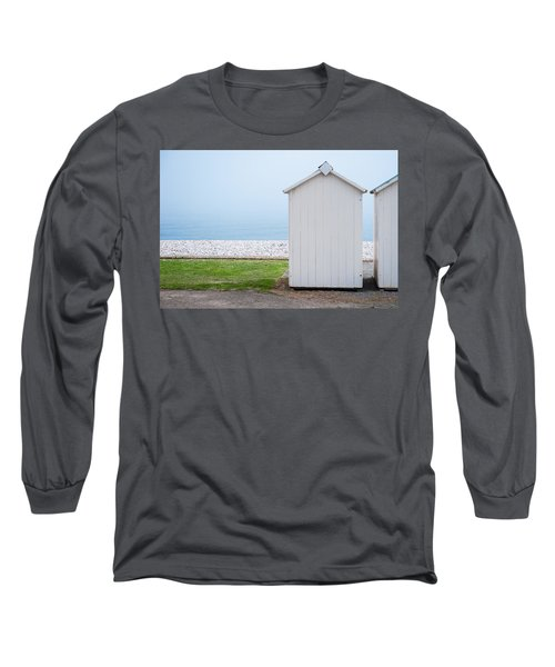 Beach Hut By The Sea Long Sleeve T-Shirt
