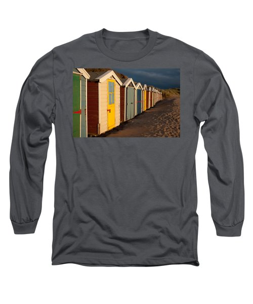 Beach Huts II Long Sleeve T-Shirt