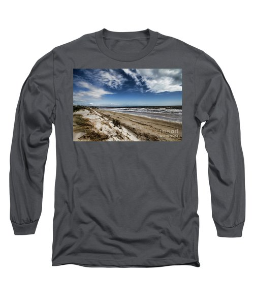 Beach Life Long Sleeve T-Shirt by Douglas Barnard