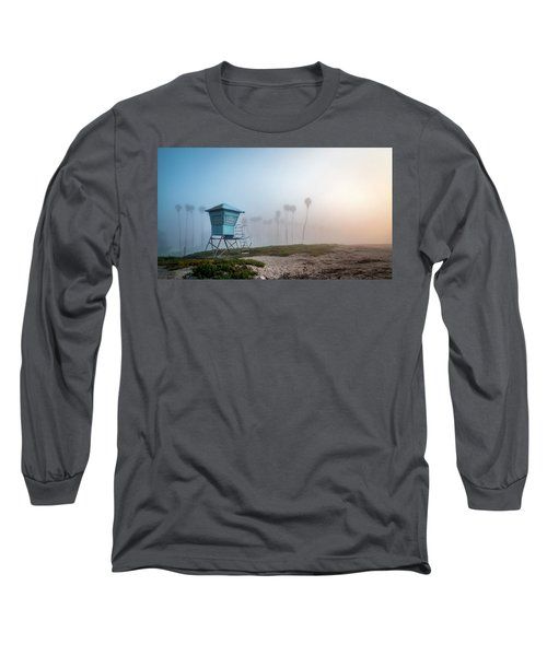 Long Sleeve T-Shirt featuring the photograph Beach Office by Sean Foster
