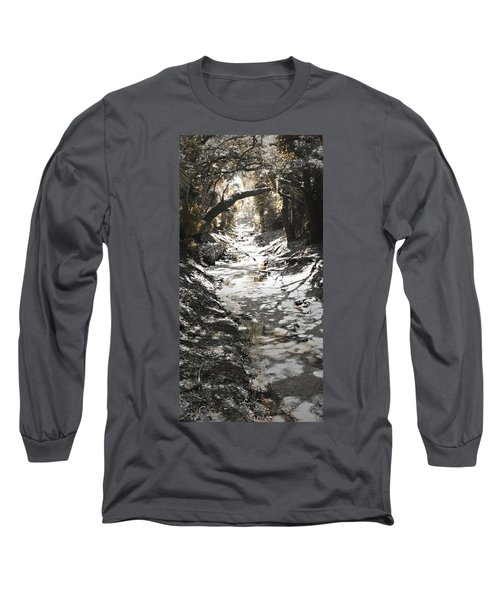 Beach Park Storm Drain Long Sleeve T-Shirt