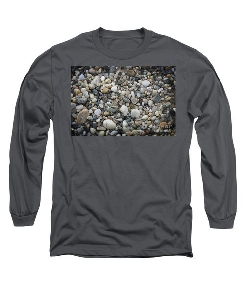 Beach Stones Long Sleeve T-Shirt