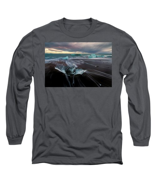 Beach Stranded Long Sleeve T-Shirt by Allen Biedrzycki