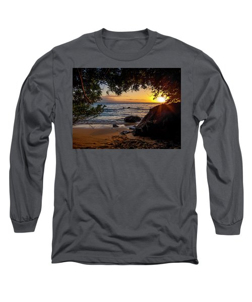 Beach Sunset Long Sleeve T-Shirt