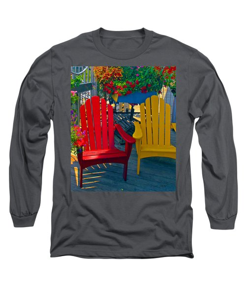 Beach Town Charm Long Sleeve T-Shirt