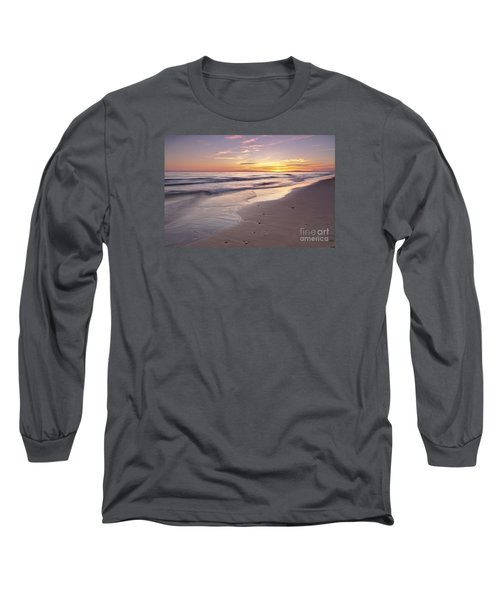 Beach Welcoming Twilight Long Sleeve T-Shirt