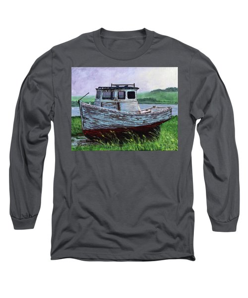 Beached At Bay Of Ayre Long Sleeve T-Shirt