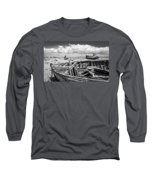 Beached Boats. Long Sleeve T-Shirt