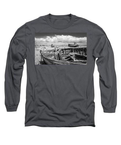 Beached Boats. Long Sleeve T-Shirt