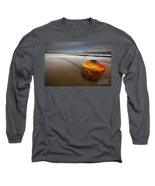 Beached Mooring Buoy Long Sleeve T-Shirt
