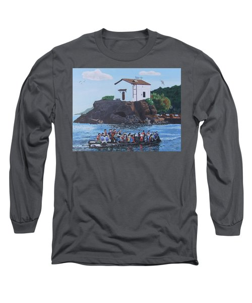 Long Sleeve T-Shirt featuring the painting Beacon Of Hope by Eric Kempson