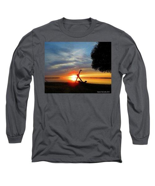 Beadles Point Sunset Long Sleeve T-Shirt