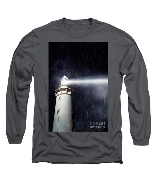 Beaming Lighthouse Long Sleeve T-Shirt