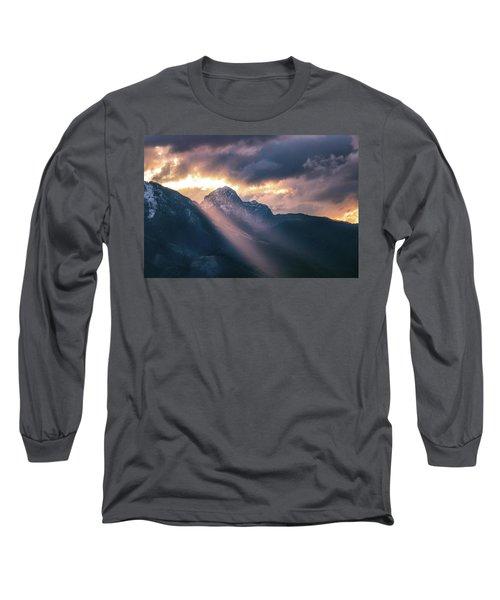Beams Of Fire Long Sleeve T-Shirt