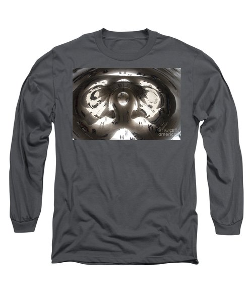 Bean Abstract No. 1 Long Sleeve T-Shirt