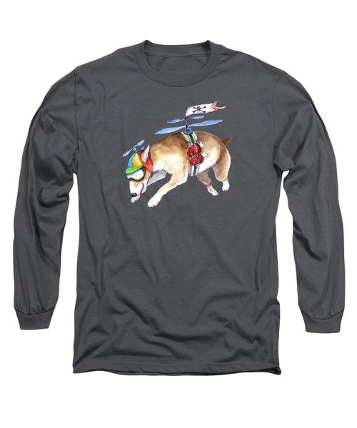 Beanie Bully  Long Sleeve T-Shirt