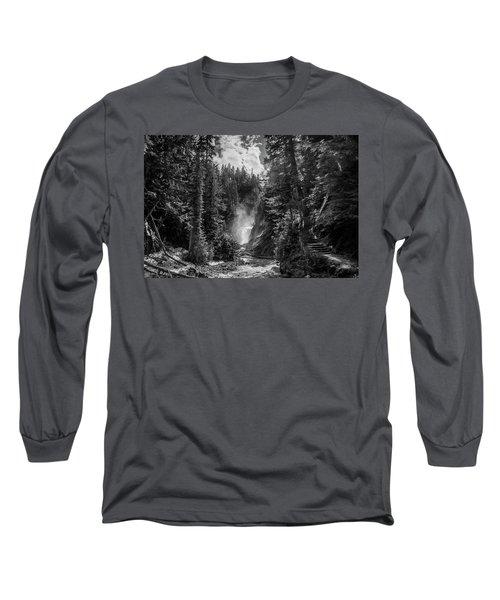 Bear Creek Falls As Well Long Sleeve T-Shirt