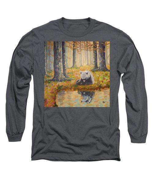 Bear Reflecting Long Sleeve T-Shirt