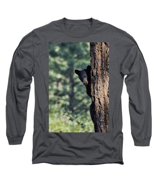 Bear4 Long Sleeve T-Shirt by Loni Collins