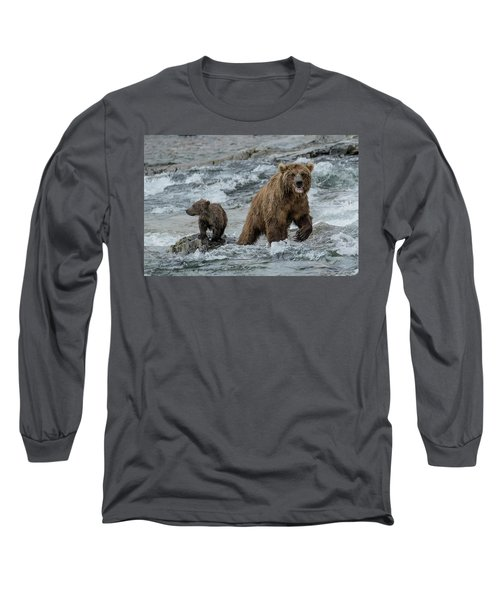 Bears Being Watchful  Long Sleeve T-Shirt