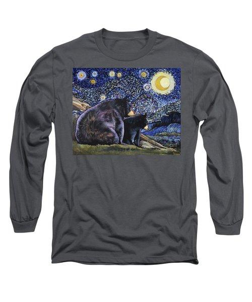 Beary Starry Nights Too Long Sleeve T-Shirt