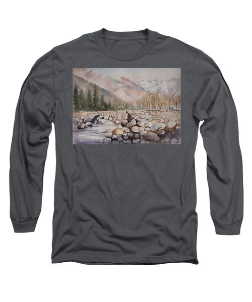 Beas River Manali Long Sleeve T-Shirt