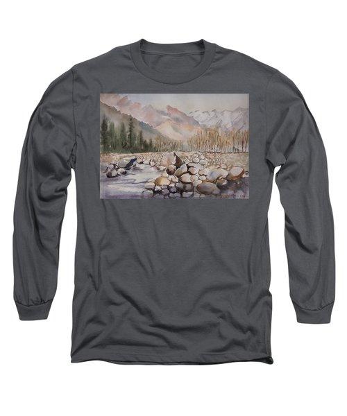 Beas River Manali Long Sleeve T-Shirt