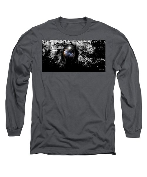 Beauties Are Things That Are Lit Inside Us Long Sleeve T-Shirt by Paulo Zerbato