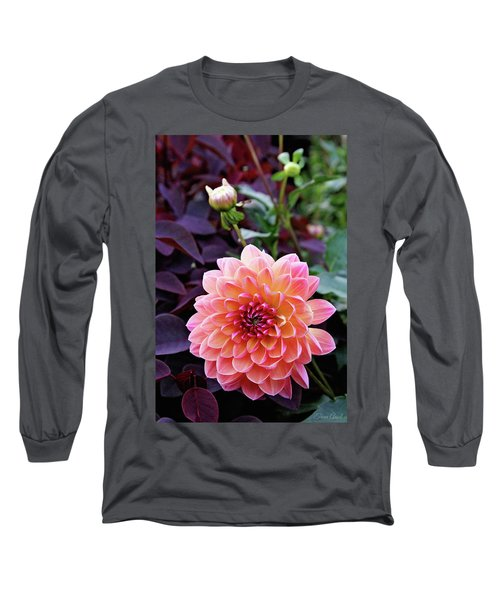 Beautiful Dahlia Long Sleeve T-Shirt